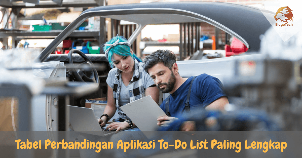 Tabel Perbandingan Aplikasi To-Do List Paling Lengkap